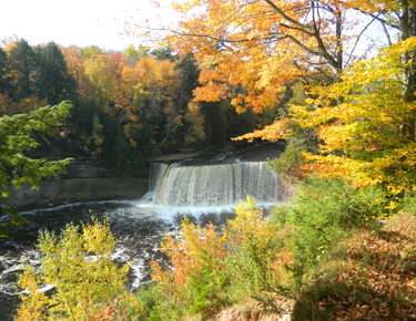Upper Michigan Falls Color Tour, Newberry Fall Colors, Tahquamenon in the Fall