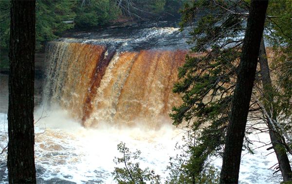 Upper Tahquamenon Falls in the Summer