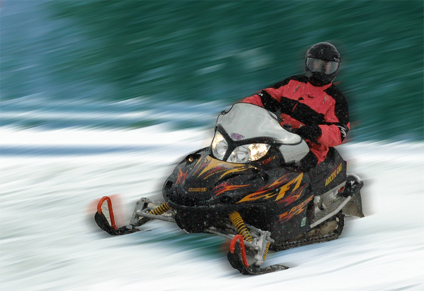 Snowmobiling in the Upper Peninsula
