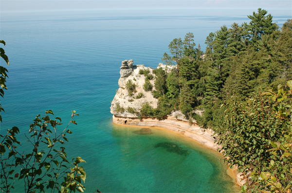 Pictured Rocks of Munising